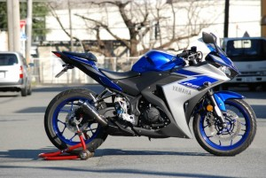 CORES YZF-R25 All Blacks